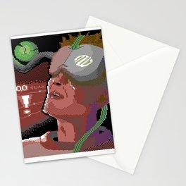Neuromancer C64 Pixelart Stationery Cards