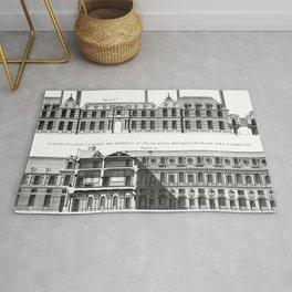 Palais-Royal on the rue St. Honoré 1754 Rug