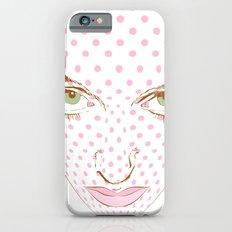 Pop art face iPhone 6s Slim Case