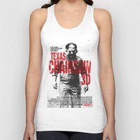 texas Tank Tops featuring TEXAS CHAINSAW by Maioriz Home