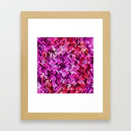 Pretty in wavy Pink..... Framed Art Print