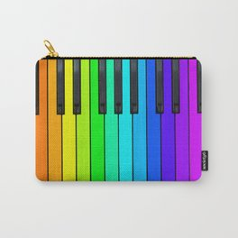 Rainbow Piano Keyboard  Carry-All Pouch