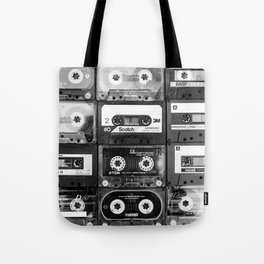 Something Nostalgic - black and white #decor #buyart #society6 Tote Bag