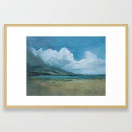 Ideal Beach Framed Art Print