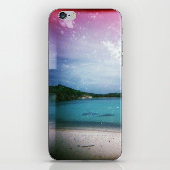 St John, USVI Multiple Exposure iPhone & iPod Skin