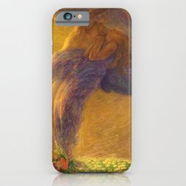 Il Sogno - Lovers, The Dream by Gaetano Previati iPhone Case