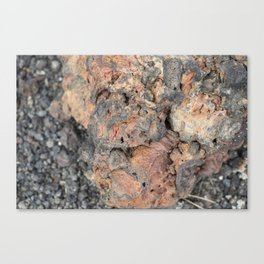 Iceland Rocks: Red Rhyolite Edition Canvas Print