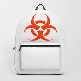 Biological Hazard Symbol Backpack