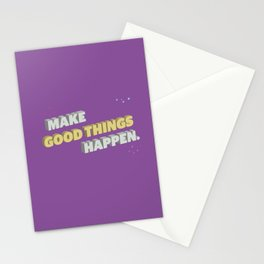 Make It Happen Stationery Cards