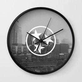 Nashville Tristar Skyline Wall Clock