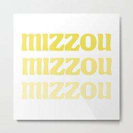 MIZZOU Metal Print