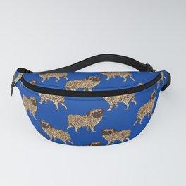 Pug Leopard Fanny Pack
