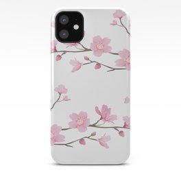 Cherry Blossom - Transparent Background iPhone Case