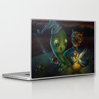 fairy tale Laptop & iPad Skins featuring Fairy Tale by Alicia Templin