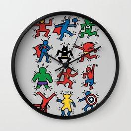 Keith Superheroes Wall Clock
