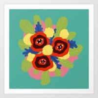 Bouquet #1 Art Print