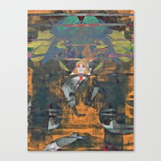 disquiet nineteen (unrecognized, well preserved) Canvas Print