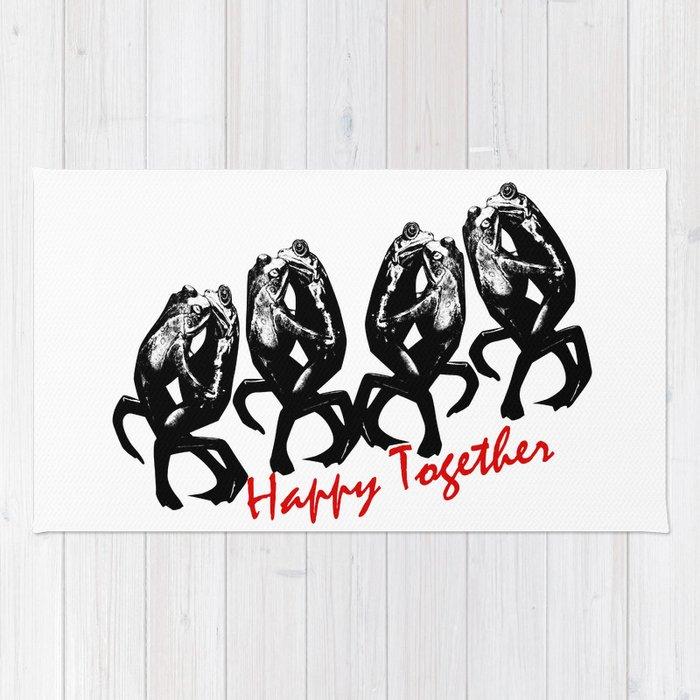 happy together Rug