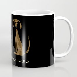 Happy Together - Black Coffee Mug