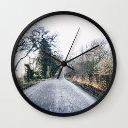 exploring Derbyshire Wall Clock