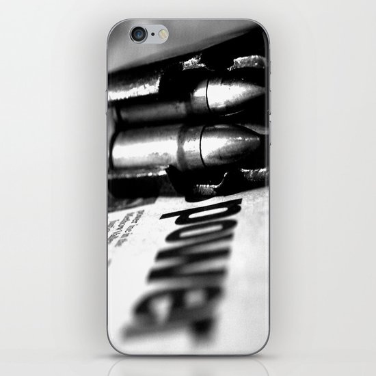 Pen and Sword iPhone & iPod Skin