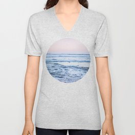 Pacific Ocean Waves Unisex V-Neck