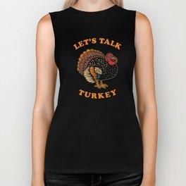 Let's Talk Turkey Biker Tank