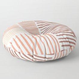 Terra Line Maze Floor Pillow