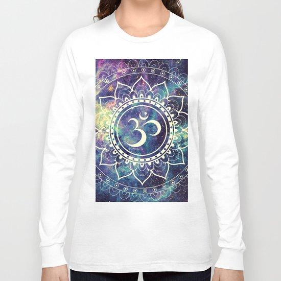 Om Mandala : Deep Pastels Galaxy Long Sleeve T-shirt