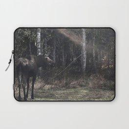 Backyard Moose Laptop Sleeve