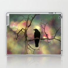 Crow Dreams In Colors Laptop & iPad Skin