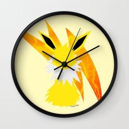 Minimal Jolteon Wall Clock