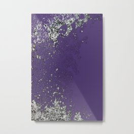 Purple Mold Metal Print