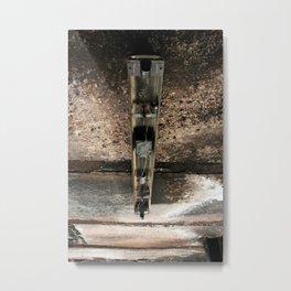 Broken Fluorescence  Metal Print