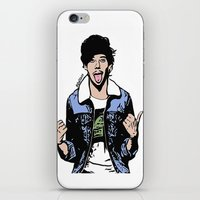 louis tomlinson iPhone & iPod Skins featuring Louis Tomlinson by 90's Class