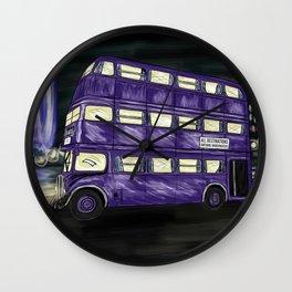 The Knight Bus Wall Clock