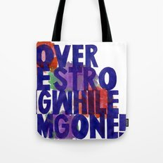 Lover Be Strong Tote Bag