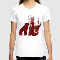 putin T-shirts featuring Vladimir Putin by MartiniWithATwist