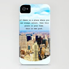 This is New York iPhone (4, 4s) Slim Case