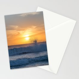 When the Sea meets the Sun Stationery Cards