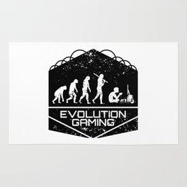 Video Gaming Evolution Rug