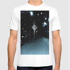WHITEOUT : Wintree MEDIUM Mens Fitted Tee White
