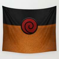 naruto Wall Tapestries featuring NARUTO by September 9