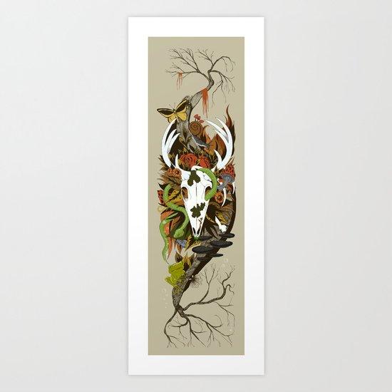 Nature Thrives Art Print