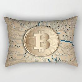 Bitcoin Miner Rectangular Pillow