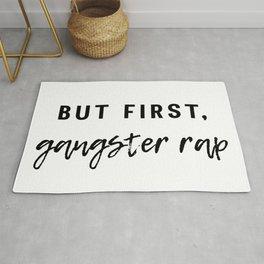 Gangster Rap Rug