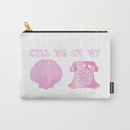 KG Beauty Call Me On My Shell Phone Carry-All Pouch