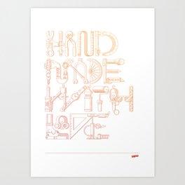 Hand Made With Love Art Print