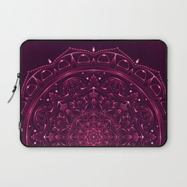 Mandala Violet Lace Laptop Sleeve