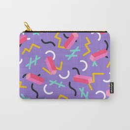 Purple Zig Carry-All Pouch